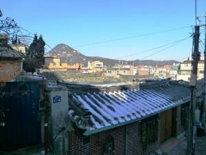 Mt. Bugak seen from Chebu-dong-Robert J. Fouser